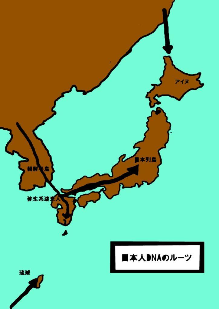 日本人DNAのルーツ
