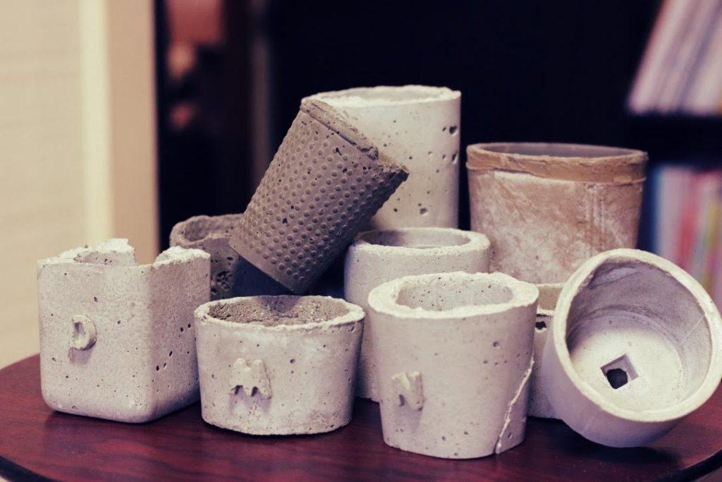 植物を育てる鉢/コンクリート(セメント)鉢の作り方のポイントは3つ