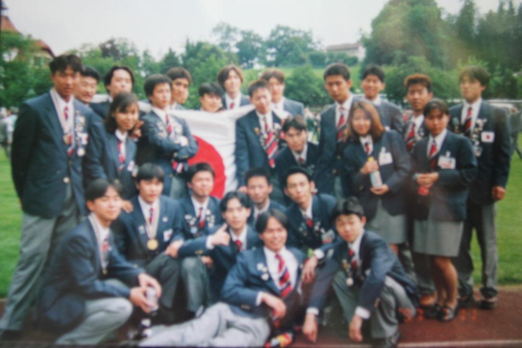日本代表選手団での行動